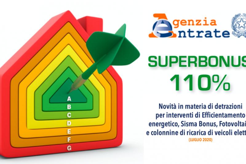 Finalmente in vigore i decreti attuativi per il SUPERBONUS 110%: chiama in agenzia per una consulenza gratuita!